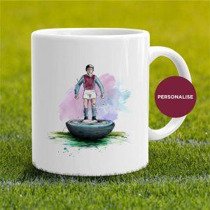 Aston Villa - Retro Subbuteo, personalised Mug