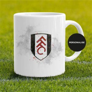 Fulham - Badge, personalised Mug