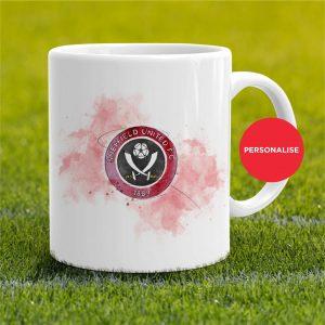 Sheffield United - Badge, personalised Mug