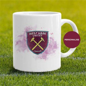 West Ham United - Badge, personalised Mug