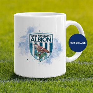 West Bromwich Albion - Badge, personalised Mug